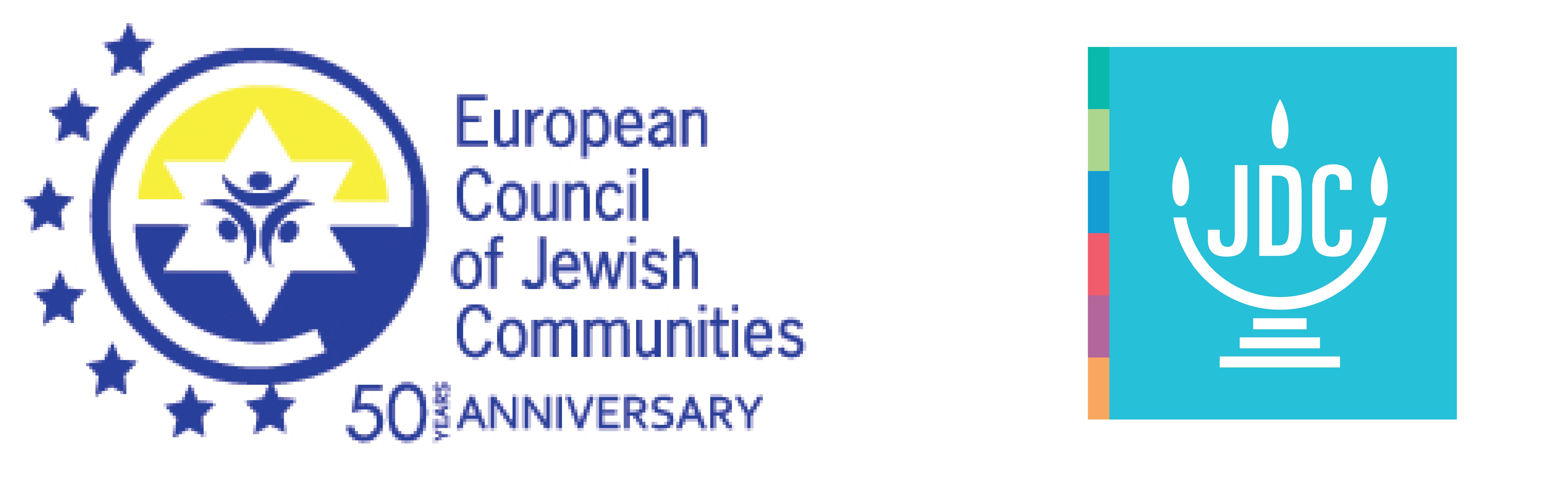 logos pie ECJC JDC